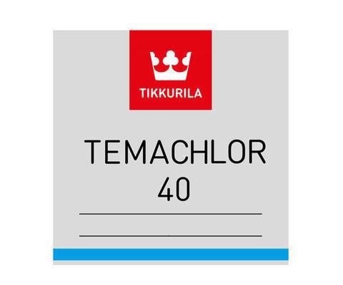 Tikkurila Temachlor 40/Тиккурила Темахлор 40 однокомпонентная толстослойная краска на хлоркаучуковой основе