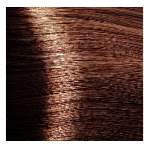 Крем краска для волос с гиалуроновой кислотой Kapous, 100 мл - HY 6.4 Темный блондин медный