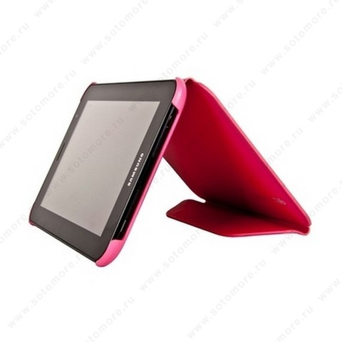 Чехол-книжка Book Cover для Samsung Galaxy Tab 7.0 Plus P6200/ P6210 розовый