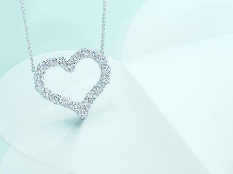 Алмазный Кулон Сердце