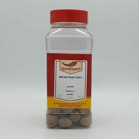 Мускатный орех целый SpicExpert, 300 гр