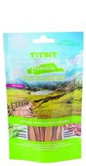 Лакомство для собак TitBit вяленое Соломка ароматная из говядины классик 40 г
