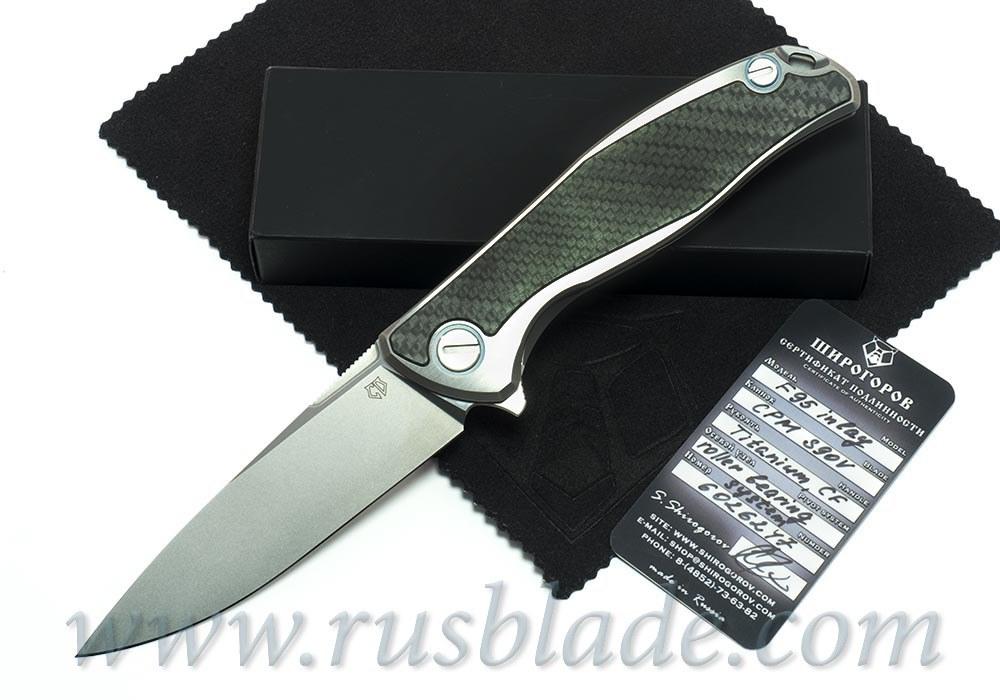 CUSTOM Shirogorov F95 S90V Custom Division