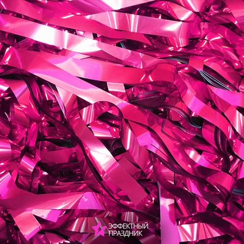 Розовая металлизированная бумага
