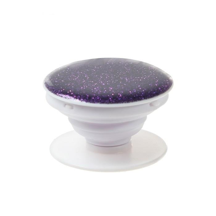 Попсокет держатель для телефона на палец фиолетовый фото