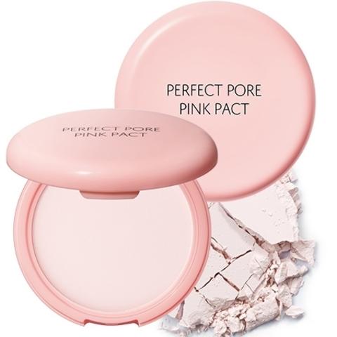 Пудра розовая с каламином для проблемной кожи THE SEAM Saemmul Perfect Pore Pink Pact 11 гр