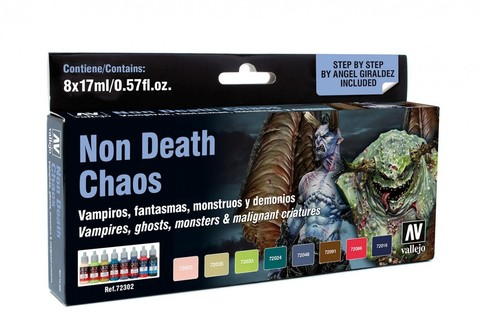 Game Color Non Death Chaos (8) by Angel Giraldez 17ml.