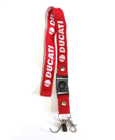 Шнурок на шею для ключей Ducati