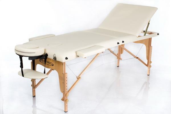 Массажный стол RESTPRO Classic 3 Cream (EU) фото