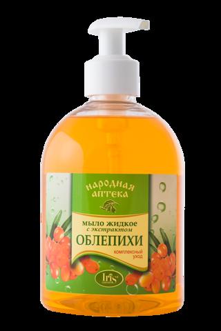 Iris Народная аптека Мыло жидкое с экстрактом Облепихи 500мл