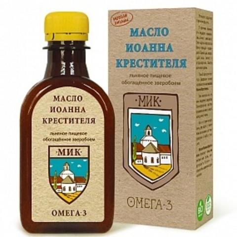 Масло льняное Иоанна Крестителя, 200 мл. (Компас Здоровья)