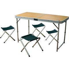 Комплект стол + 4 стула Camping World Convert Table Plus 4