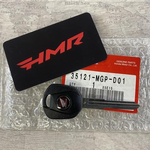 Болванка ключа CBR1000 CB1100 HISS 35121-MGP-D01