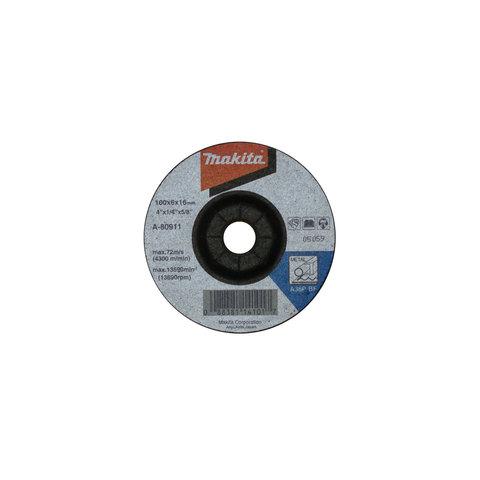 Шлифовальный диск по металлу Makita A36P 100x6 мм