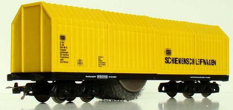 Lux-Modellbau 9131 Вагон для чистки рельс и контактной сети, НО, для DC / DCC. Автоматический старт / стоп на основе движения