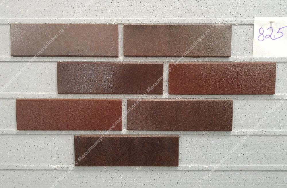 Stroeher - 825 sherry, Keravette shine, glasiert, глазурованная, гладкая, 240x71x11 - Клинкерная плитка для фасада и внутренней отделки
