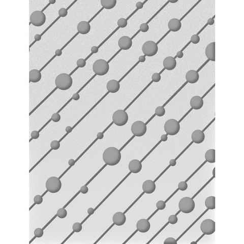 Папка для тиснения Ultimate Crafts Embossing Folder A2 -Shooting Raindrops