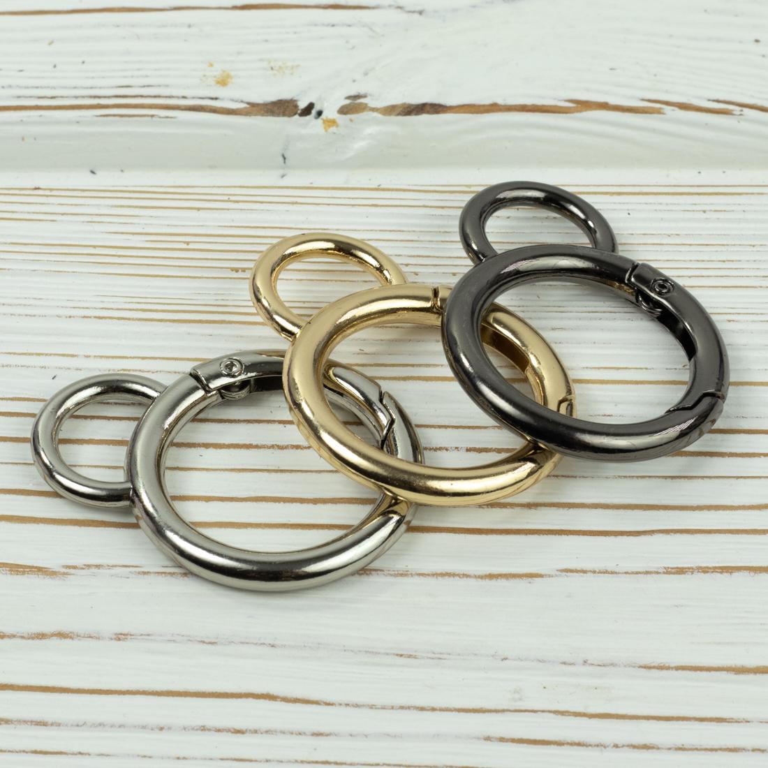 Карабины Карабин-кольцо 25мм  с ушком (цвет на выбор) IMG_5916.jpg