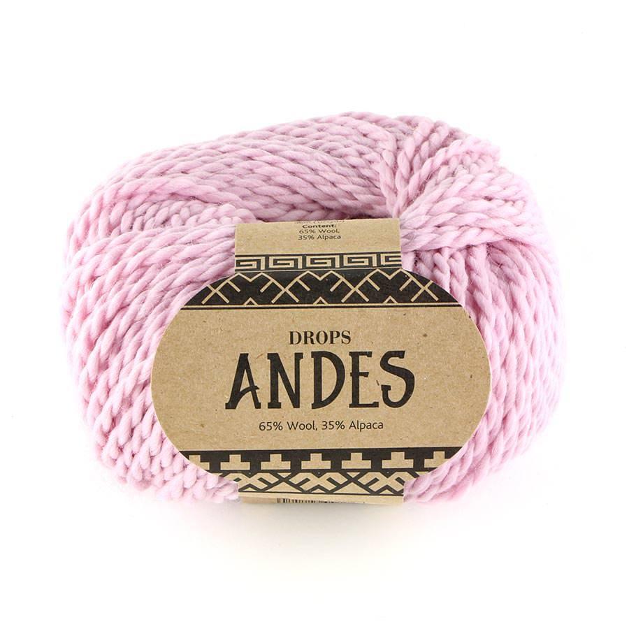 Пряжа Drops Andes 3145 пудра