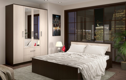 Спальня модульная Фиеста-6 венге