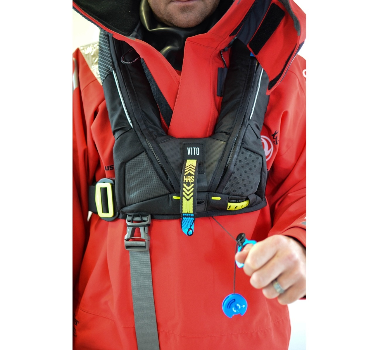 Deckvest Vito offshore inflatable lifejacket