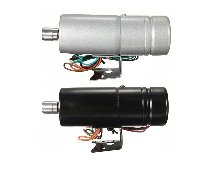 Шифт лампа в двух цветах серебристый и черный