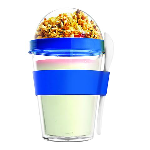 Контейнер Asobu Yo2go improved (0,36 литра), голубой