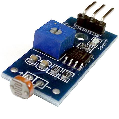 Модуль фоторезистора с цифровым выходом