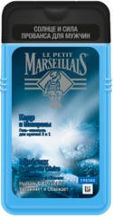 """Гель-шампунь для мужчин """"J&J Le Petit Marseillais"""" Кедр/Минералы 250мл"""