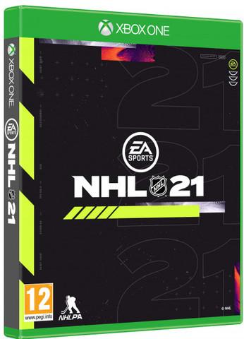 Xbox One NHL 21 (русские субтитры)