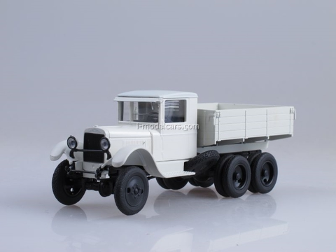 ZIS-36 board white 1:43 Nash Avtoprom