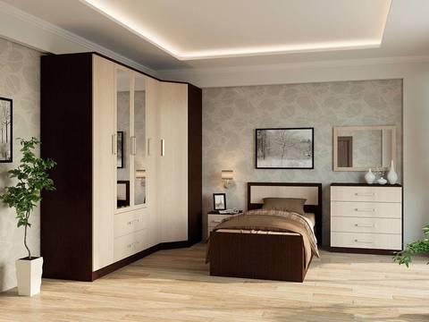 Спальня модульная Фиеста-8 венге