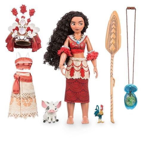 Дисней Моана поющая кукла 28 см