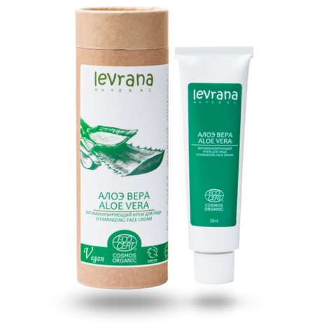 Levrana Крем для лица Алоэ Вера, витаминизирующий, 50 мл