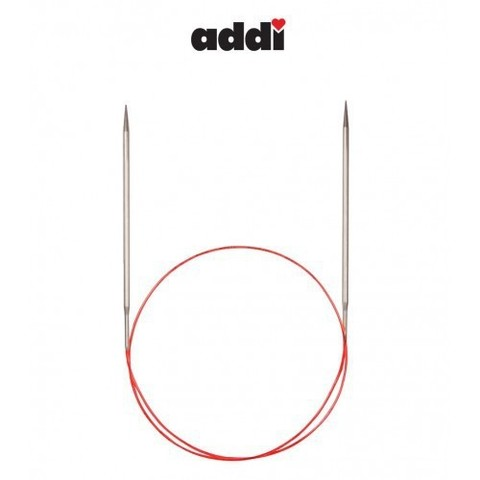 Спицы Addi круговые с удлиненным кончиком для тонкой пряжи 40 см, 2.25 мм