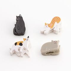 Магнит+зажим Midori Magnet Clip - Cat