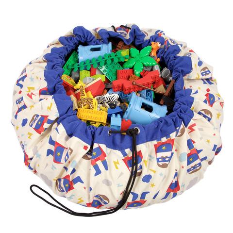 Коврик-мешок для игрушек (2 в 1) Play&Go Designer СУПЕРГЕРОЙ 79969