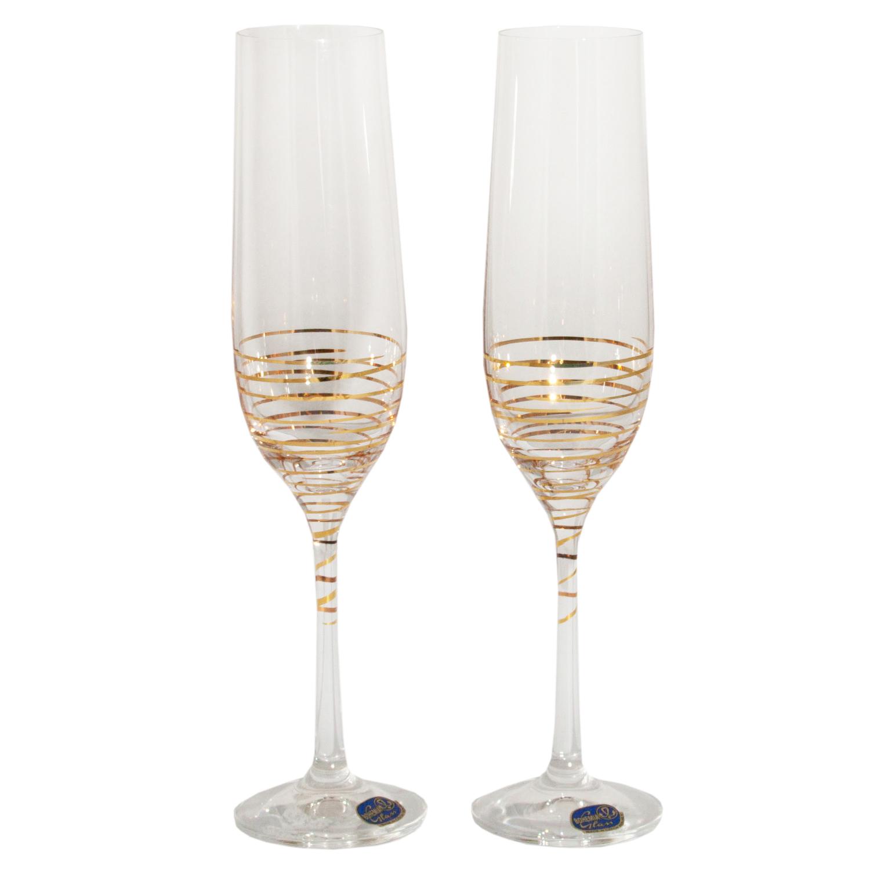 Набор бокалов для шампанского «Виола», 190 мл набор бокалов для шампанского элизабет 200 мл