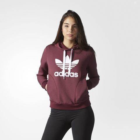 Джемпер женский adidas ORIGINALS Slim Trefoil Hoodie