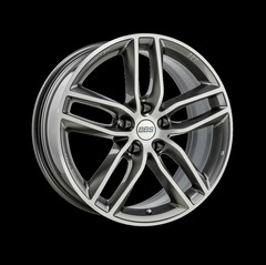 Диск колесный BBS SX 8.5x19 5x120 ET32 CB82.0 platinum silver/diamond cut