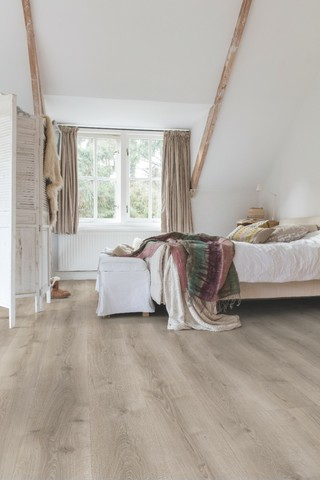 Desert Oak brushed grey | Ламинат QUICK-STEP MJ3552