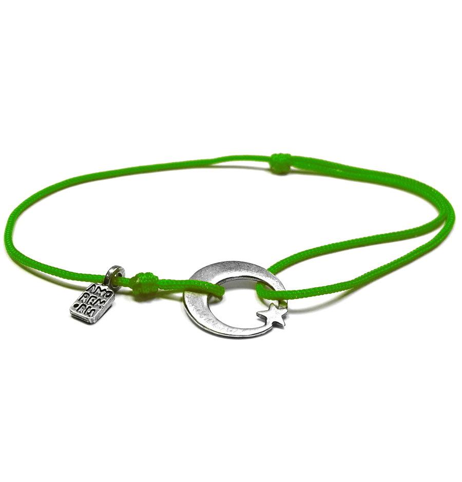 Moon bracelet, Sterling silver