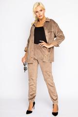 """<p>Хит! Хит! Хит!&nbsp;</p> <p>&nbsp;</p> <p>Вельветовая рубашка- любимая одежда активных особ.Она практична и удобна, а так же очень стильная.</p> <p><span>Отлично сочетается с брюками """"Вельвет"""".</span></p>"""