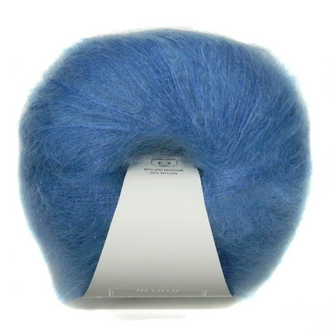 Пряжа Lana Gatto Mohair Royal 08397 голубой