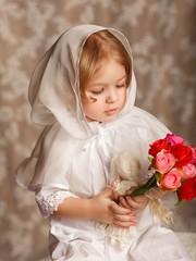 Церковный платок для девочки Алиса
