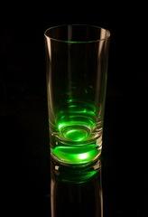 Светящийся бокал для коктейлей GlasShine, зеленый, фото 2