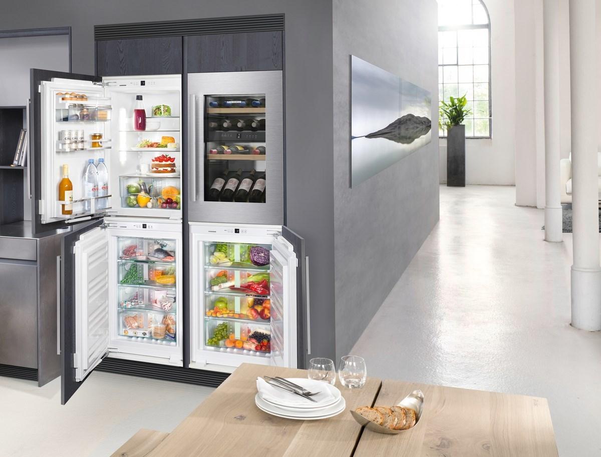 Подобрать встраиваемый холодильник