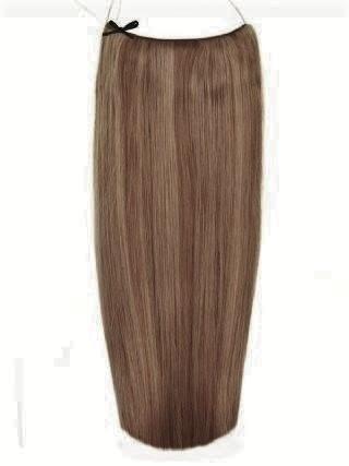 Волосы на леске Flip in- цвет #8-22