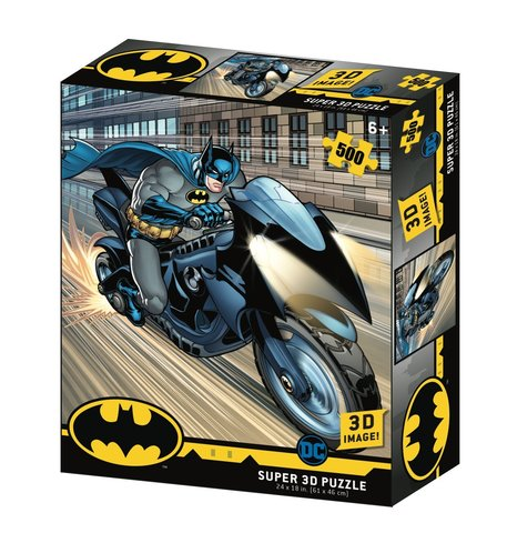 Пазл Super 3D «Бэтцикл», 500 деталей