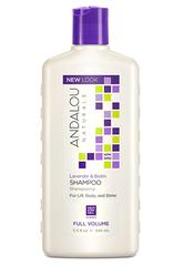 "Шампунь для объема волос ""Лаванда и биотин"", Andalou Naturals"